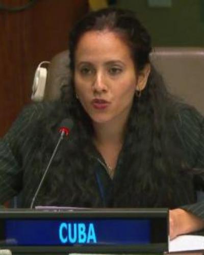 Lilianne Sánchez. Foto: Cubaminrex