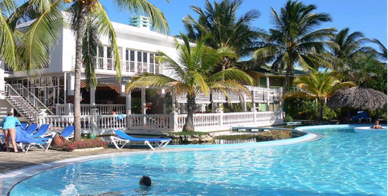 Los turistas tienen muchos motivos para visitar cayo Coco. Foto: Archivo