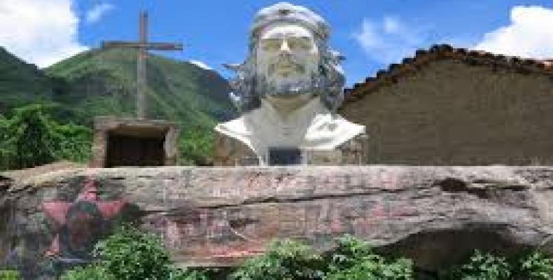Varias actividades se realizarán en Bolivia como homenaje al Che y sus compañeros de lucha.Imágen:Internet.