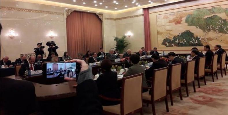 Cuban president continues his visit to China.  Photo: CubaDebate