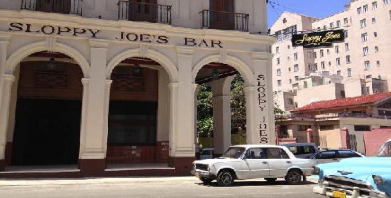 Sloppy Joe's Bar, in Old Havana
