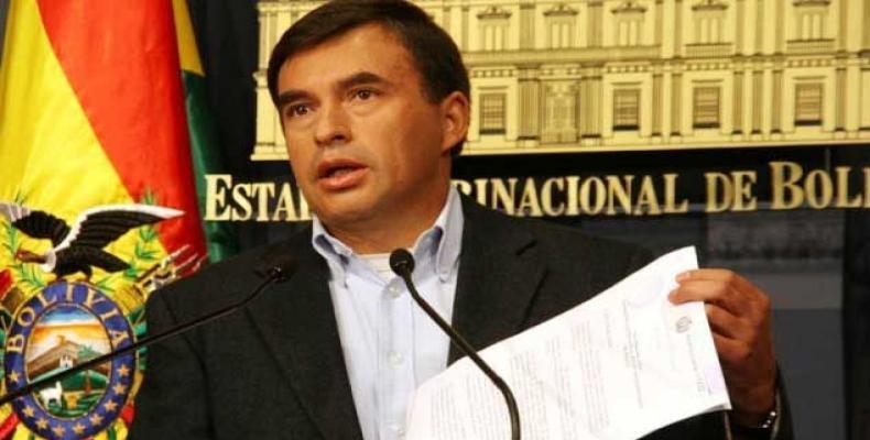 Bolivian Presidential Minister, Juan Ramón Quintana