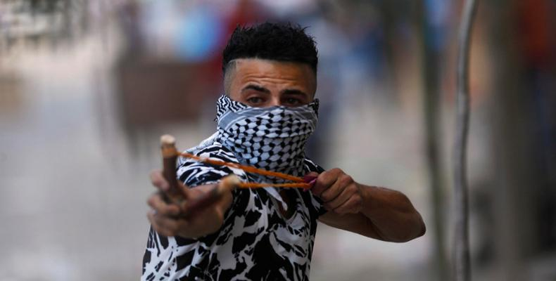 Palestinian protests grow in Gaza.  Photo: AFP