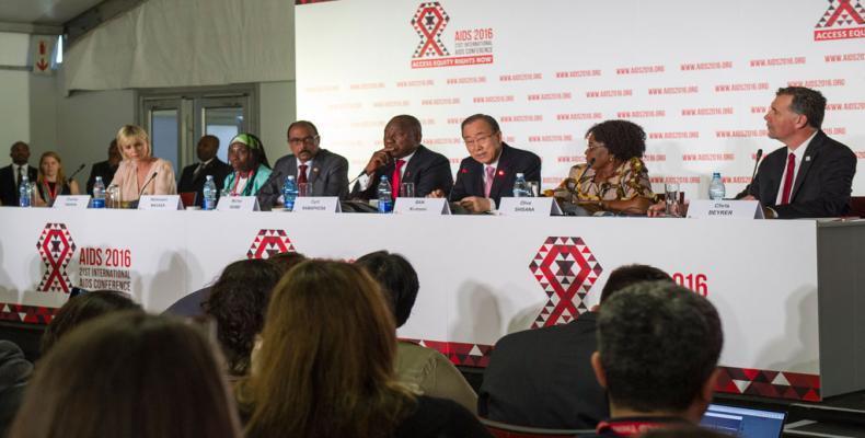 Ban llama a iniciar era de respuesta rápida al VIH para poner fin al SIDA para 2030. Foto/www.un.org