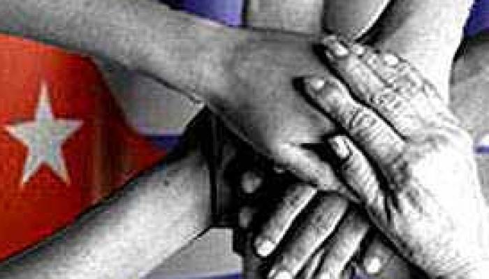 Central American solidarity brigade in Cuba.  Photo: CubaDebate