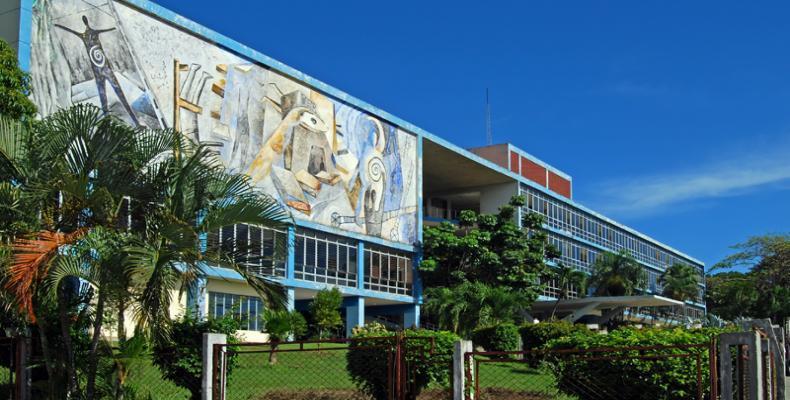 Edificio Rectorado Universidad de Oriente. Imagen / Wikipedia.