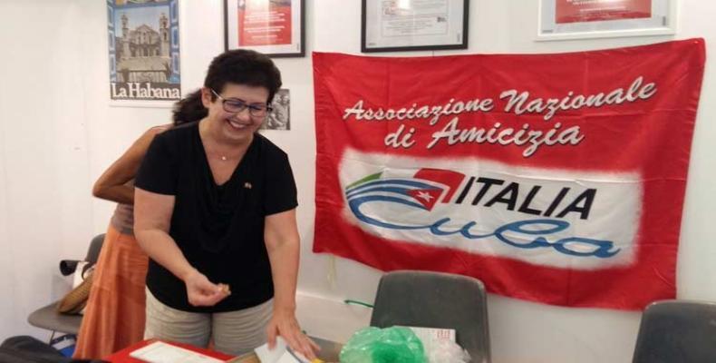 Los directivos de la Asociación Nacional de Amistad Italia-Cuba cumplen un intenso programa de actividades en La Habana.Foto:RReloj.