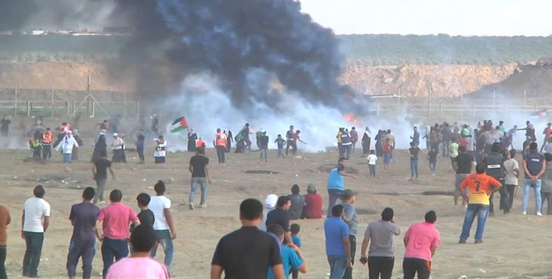 """Israeli forces kill Gazan medic armed with """"bandages and surgical masks""""   Photo: AP"""