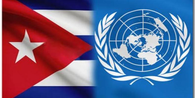 Cuba reitera na ONU tolerância zero às drogas.