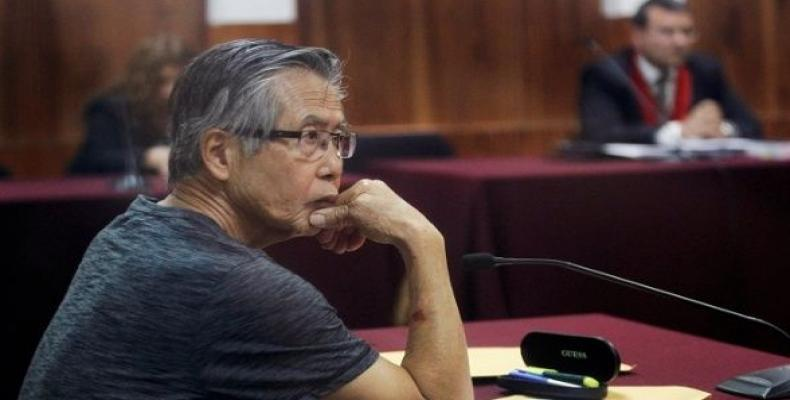 Former Peruvian President Alberto Fujimori and three of his health ministers again face charges of forced sterilization.  Photo: Reuters