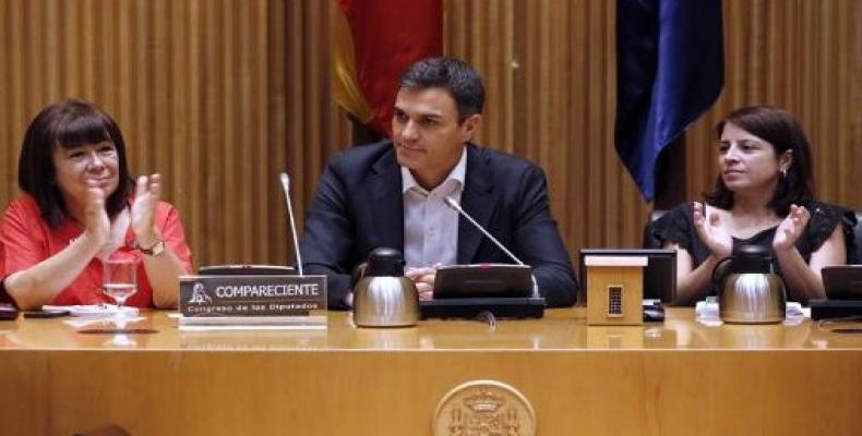 Secretario general del Partido Socialista Obrero Español (PSOE), Pedro Sánchez.