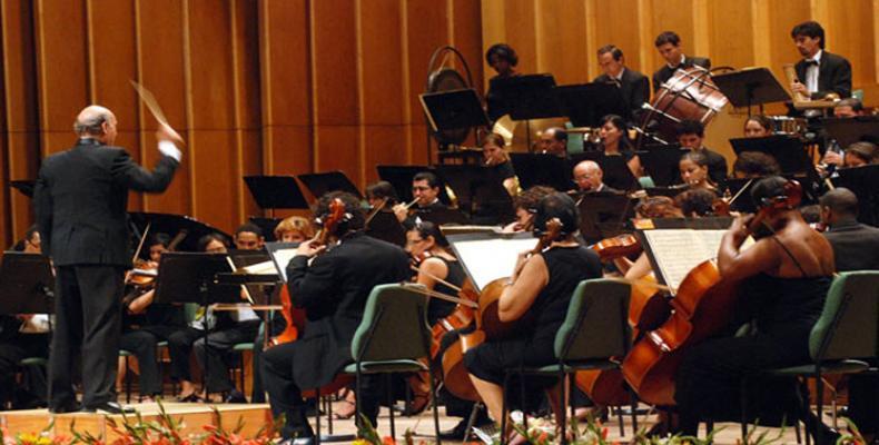 L'orchestre symphonique de Cuba s'est vu contraint de faire deux encore à New York. Image des archives
