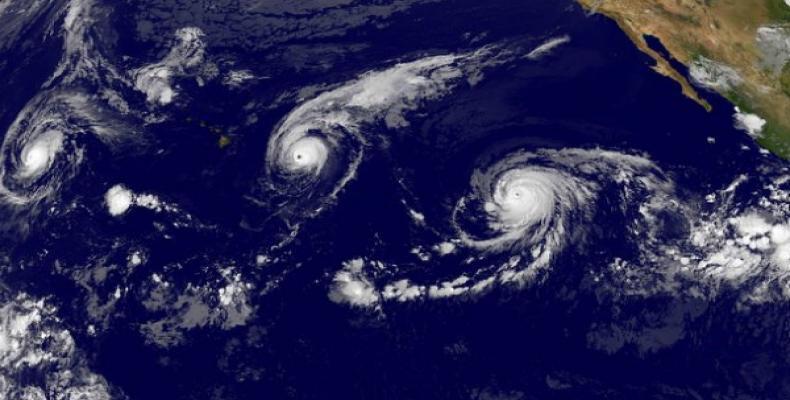 Meteorólogo cubano espera temporada ciclónica menos activa en el Caribe. Foto:Archivo.