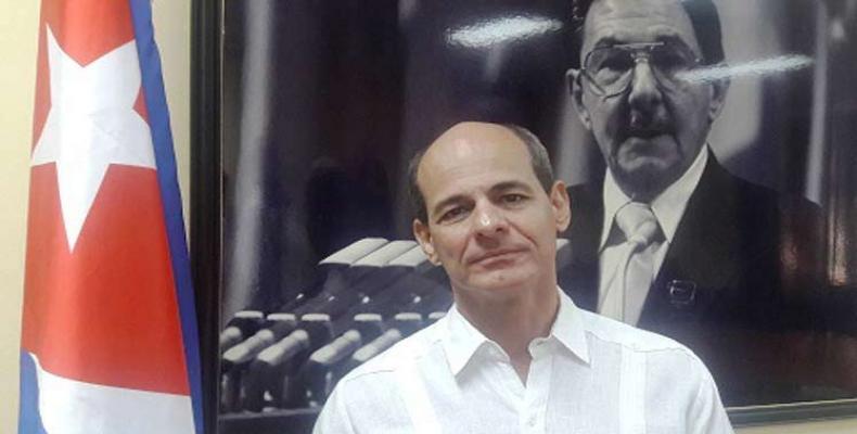 Cuban Deputy Foreign Ministry Rogelio Sierra