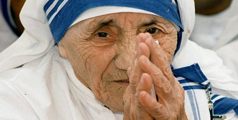 Madre Teresa de Calcuta. Foto: Archivo