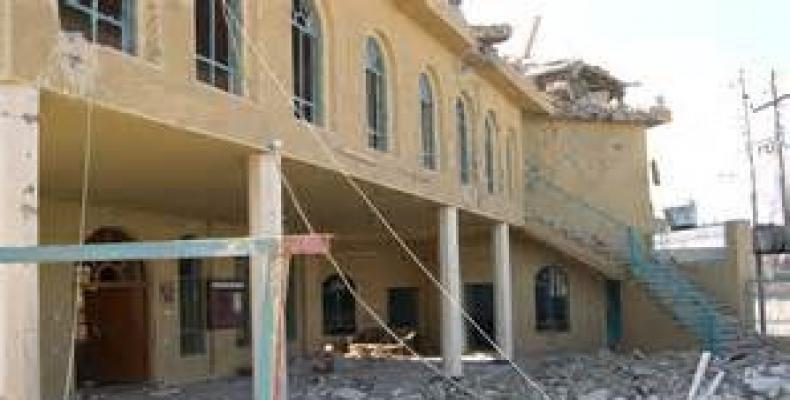 Hospital de Falluhaj destruido por grupo terrorista