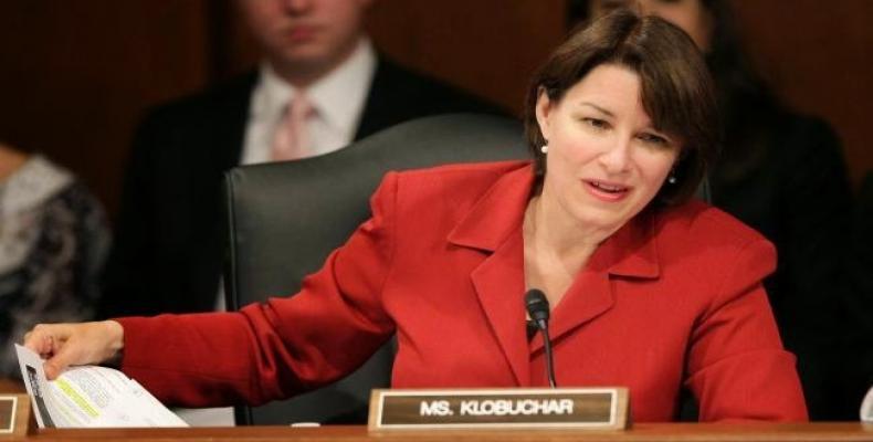 Amy Klobuchar, senadora por Minnesota (Imágen de internet)