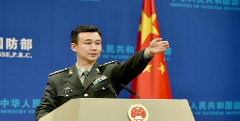 Wu Qian, portavoz del Ministerio chino de Defensa