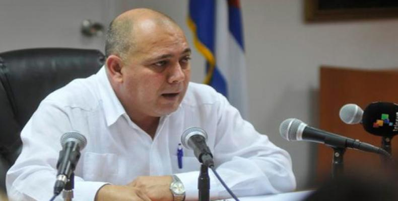 Cuban Minister of Public Health Dr. Roberto Morales Ojeda