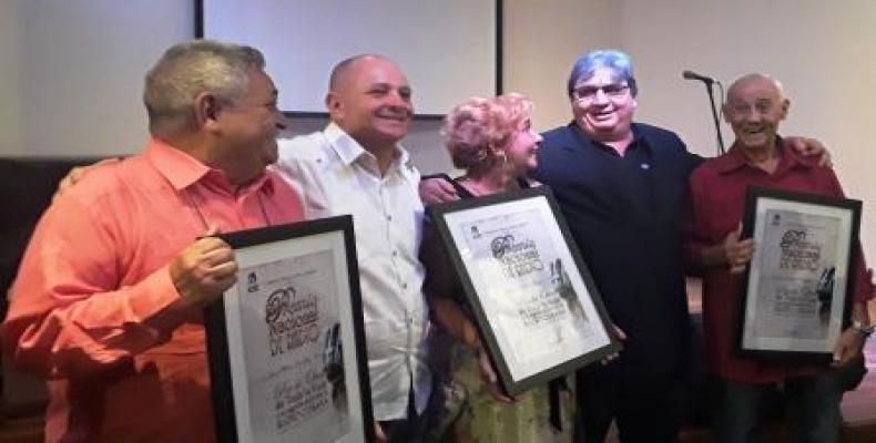 Jornada de premiaciones en el Memorial José Martí. Foto tomada del Portal de la Radio Cubana