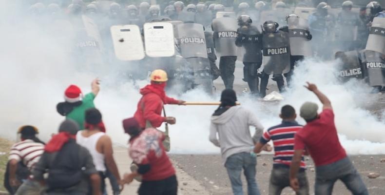 Protestas en Honduras para rechazar resultados de elecciones presidenciales
