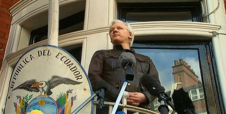 UK Pressured Sweden Not to Drop Assange's Extradition Proceedings.  Photo: BBC