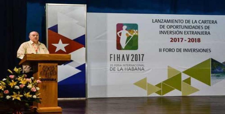 Foreign Trade and Investment Minister Rodrigo Malmierca