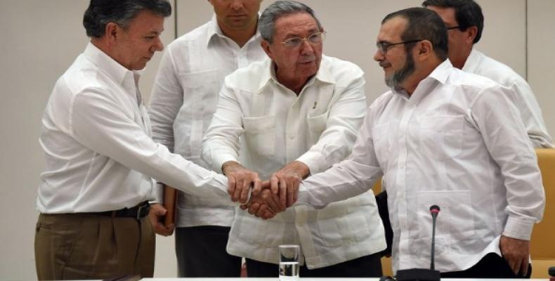 El acuerdo se firmaría este jueves en La Habana con la presencia del presidente Juan Manuel Santos. (Foto/archivo)