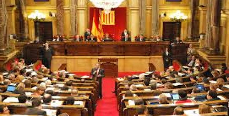 Catalan Parliament. File Photo