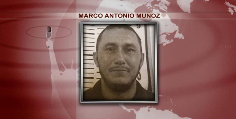 Marco Antonio Muñoz, Honduran immigrant in U.S.   Photo: Democracy Now