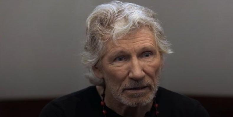 Pink Floyd musician Roger Waters calls on urgent action to save planet.  Photo: teleSUR
