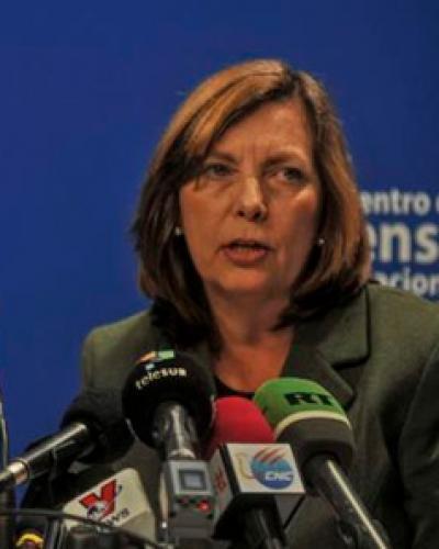 Josefina Vidal. Foto: Oriol de la Cruz Atencio