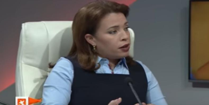 Tania Velázquez, directiva de ETECSA