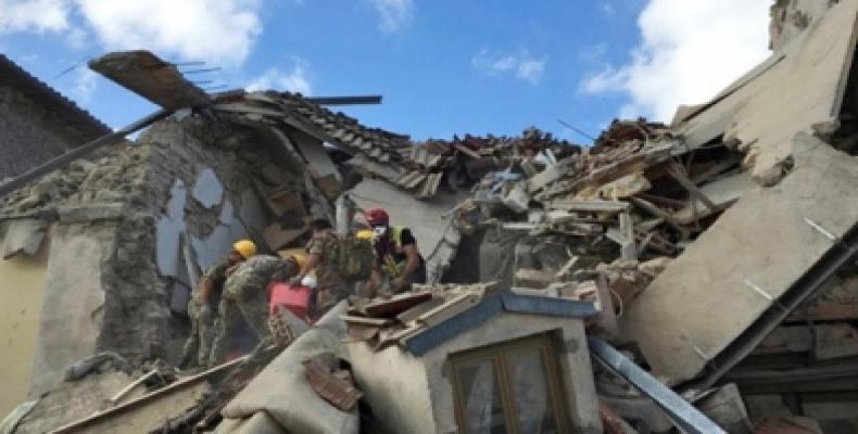 Una casa en ruinas. Foto: Tomado de Telesur