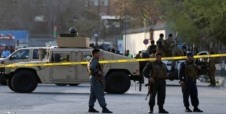 El Estado Islámico asumió la autoría del ataque suicida de este viernes en un barrio chiita de Kabul.Foto:PL.