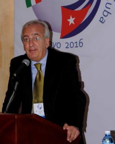 Salvatore Parano, Director General del Instituto de Comercio Exterior de Italia en Ciudad México. Foto: Omara García Mederos/ACN