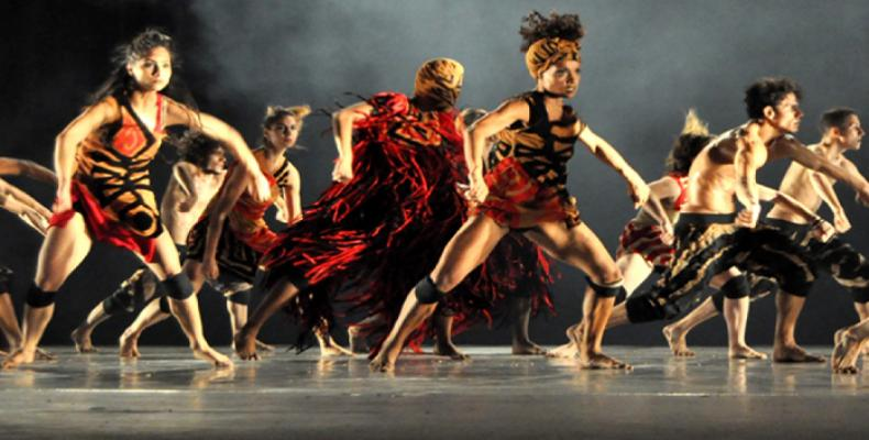 Danza Contemporánea de Cuba. Foto: Archivo