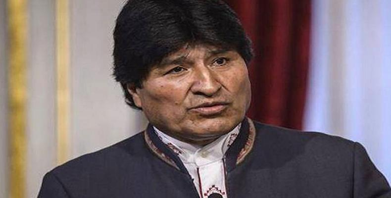 Morales se vio forzado a renunciar a su cargo el pasado 10 de noviembre. Foto: Archivo