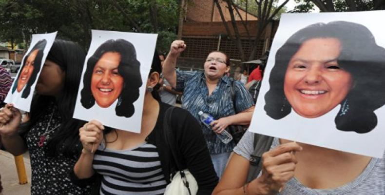 Berta Caceres, líder ambientalista también asesinada en Honduras.