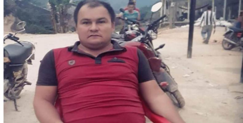 Dimar Torres, l'ex-guérillero abattu mardi par des membres des forces armées.