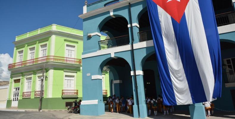 El centro Histórico de Matanzas exhibe una mejor imagen.Foto:Internet.