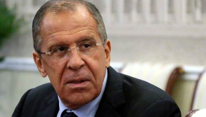 canciller ruso, Serguéi Lavrov