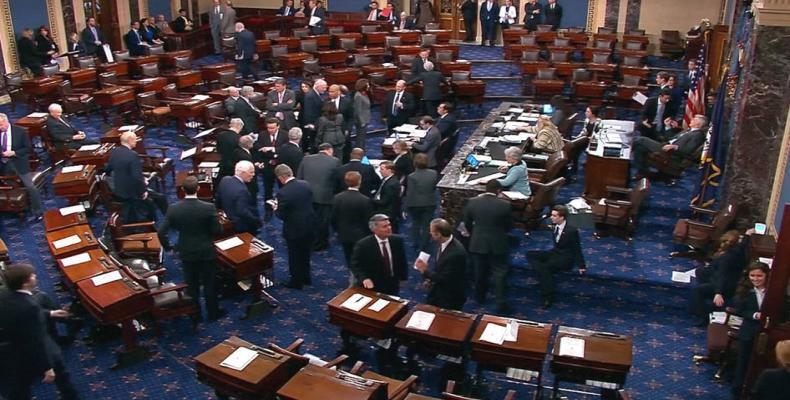 Former U.S. senators warn of threat to democracy under Donald Trump.  Photo: Google