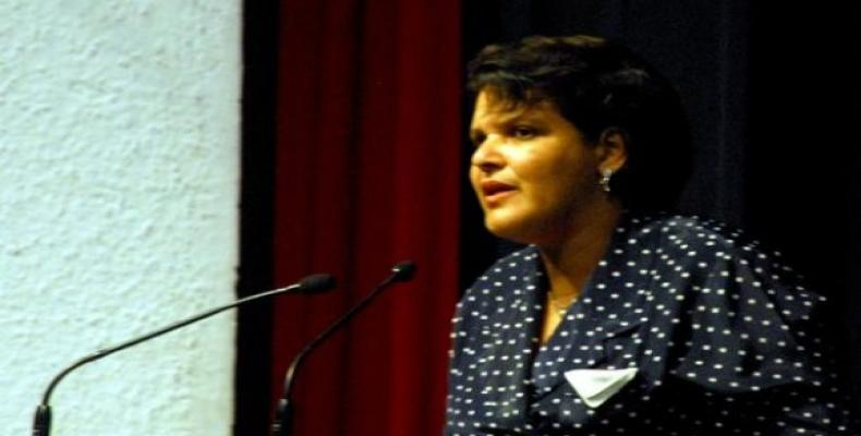 Mercedes López Acea realizará un periplo por cuatro estados de África. Foto: Archivo