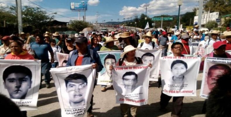 Víctimas de la violencia en México