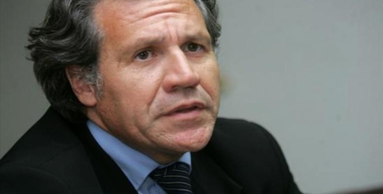 Luis Almagro, secretary-general of the Organization of American States