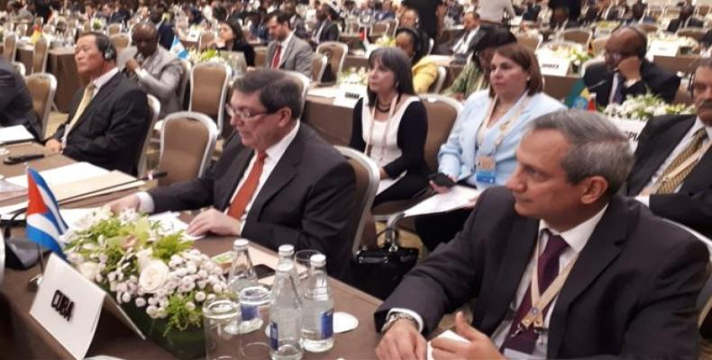 Rodríguez reaffirms Cuba's permanent commitment to multilateralism. Photos: Archive