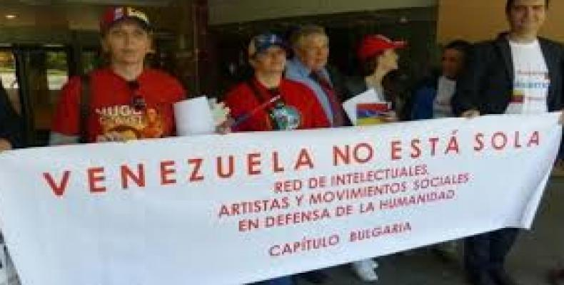 Solidarity activists in Venezuela support President Nicolas Maduro.  Photo: Google