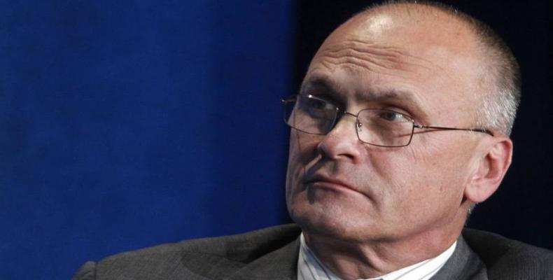 U.S. Labor Secretary Andrew Puzder