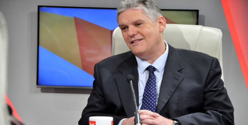 Alejandro Gil, Minister of Economy and Planning.